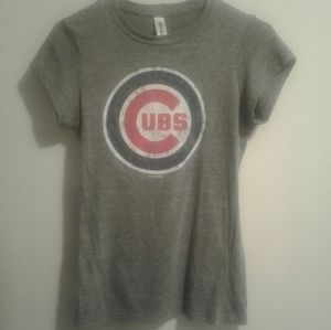 Chicago Cubs Short Sleeve Fitted T-Shirt Size Med
